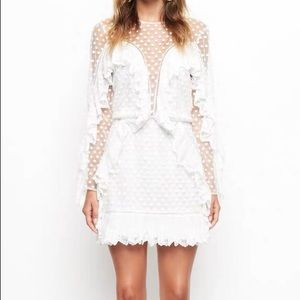 Alice McCall white forever young casual dress UK 8